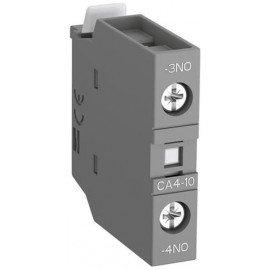 Контакт CA4-10 1НО фронтальный для контакторов AF09-AF38 и NF