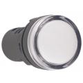 Лампа AD22DS(LED)матрица d22мм белый 230В IEK