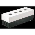 Корпус КП104 для кнопок 4места белый IEK