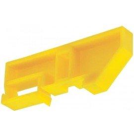 Изолятор DIN желтый