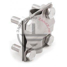 GALMAR Зажим крестообразный для подключения проводника (D17; пол. <40мм, кр. <78мм2) нерж. сталь