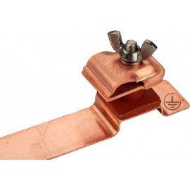 GALMAR Зажим на кровлю универсальный для токоотвода (высота до 15 мм; медь)