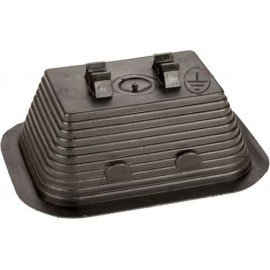 GALMAR Держатель на плоскую крышу для токоотвода (D8 мм; пластик)