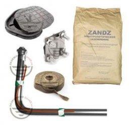 ZANDZ Комплект электролитического заземления (горизонтальный; 3 метра)