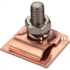 GALMAR Зажим на кромку листового металла для токоотвода (медь)