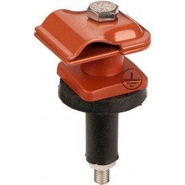 GALMAR Зажим на крышу, покрытую черепицей и складчатых поверхностей, для токоотвода (оцинк. сталь)