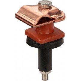 GALMAR Зажим на крышу, покрытую черепицей и складчатых поверхностей, для токоотвода (медь)
