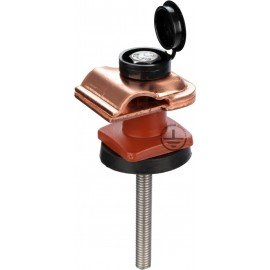 GALMAR Зажим на крышу, покрытую металлическим листом, для токоотвода (медь)