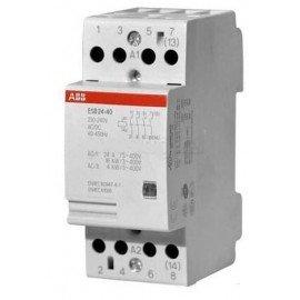 Модульный контактор ABB ESB-24-40 (24А АС1) 220В АС/DC
