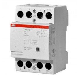 Модульный контактор ABB ESB-40-40 (40А АС1) 220В АС/DC