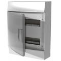 Бокс настенный ABB Mistral41 24М прозрачная дверь с клеммным блоком