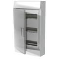 Бокс настенный ABB Mistral41 36М (3x12) прозрачная дверь с клеммным блоком