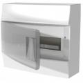Бокс настенный ABB Mistral41 12М прозрачная дверь с клеммным блоком