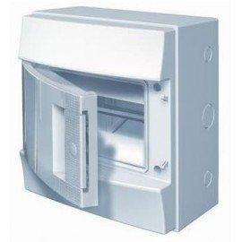Влагозащищенный настенный бокс ABB Mistral65 8М непрозрачная дверь без клеммного блока