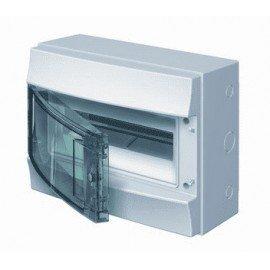 Влагозащищенный настенный бокс ABB Mistral65 12М прозрачная дверь без клеммного блока