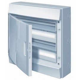 Влагозащищенный настенный бокс ABB Mistral65 36М (2х18) непрозрачная дверь без клеммного блока