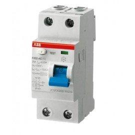 Устройство защитного отключения ABB FH202 2п 25А 0,03mA (тип АС)