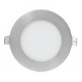 Панель светодиодная круглая RLP-eco 8Вт 160-260В 4000К 640Лм 120/105мм алюминий IP40