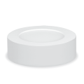 Панель светодиодная круглая NRLP-eco 8Вт 160-260В 4000К 640Лм 120мм белая накладная IP40