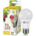 Лампа светодиодная LED-A60-standard 7Вт 230В Е27 3000К 630Лм ASD