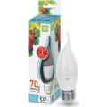 Лампа светодиодная LED-СВЕЧА НА ВЕТРУ-standard 7.5Вт 230В Е27 4000К 675Лм ASD