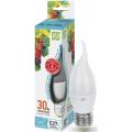 Лампа светодиодная LED-СВЕЧА НА ВЕТРУ-standard 3.5Вт 230В Е27 4000К 320Лм ASD