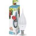 Лампа светодиодная LED-СВЕЧА НА ВЕТРУ-standard 5Вт 230В Е14 4000К 450Лм ASD