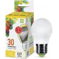 Лампа светодиодная LED-ШАР-standard 3.5Вт 230В Е27 3000К 320Лм ASD