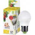 Лампа светодиодная LED-ШАР-standard 5Вт 230В Е27 3000К 450Лм ASD