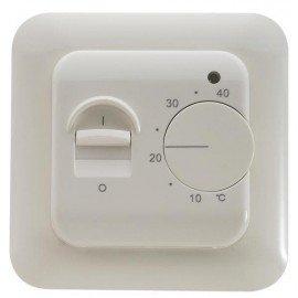 Терморегулятор для теплого пола AURA LTC 130 Белый