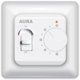 Терморегулятор для теплого пола AURA LTC 230 Белый
