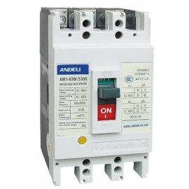 Автоматический выключатель ANDELI AM1-100L/3P 40A 35кA