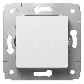 773656 Выключатель одноклавишный Legrand Cariva Белый