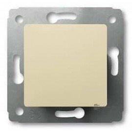 773756 Выключатель одноклавишный Legrand Cariva Слоновая кость