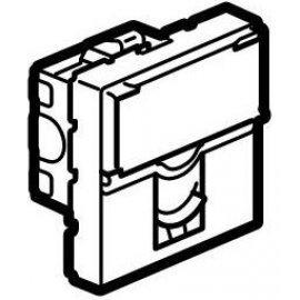Legrand Mosaic 076554 Модуль розетки компьютерной RJ-45, кат. 5e, UTP, 2М, белый