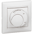 774226 Терморегулятор для теплого пола Legrand Valena Термостат стандарт белый