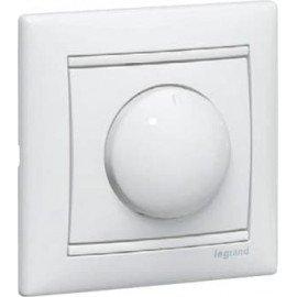 770061 Светорегулятор поворотный Белый Legrand Valena 400W