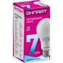 Лампа светодиодная ОНЛАЙТ OLL-A60-7-230-4K-E27