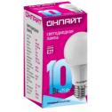 Лампа светодиодная ОНЛАЙТ OLL-A60-10-230-4K-E27