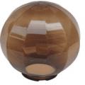 Уличный светильник-шар (золотистый с гранями) НТУ 11-60-203 (⌀-200)