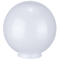 Уличный светильник-шар (молочно-белый призма) НТУ 02-60-201 (⌀-200)