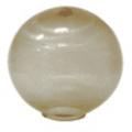 Уличный светильник-шар (золотистый) НТУ 01-60-203 (⌀-200)