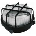Светильник НБП 01-100-003 Черный с решеткой 100Вт
