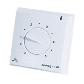 Терморегулятор Devireg™ D-130 с датчиком пола