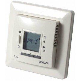 Терморегулятор для систем Devi теплый пол (с датчиком пола и воздуха) Devireg™ D535