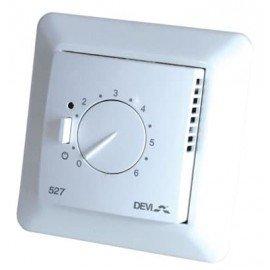 Терморегулятор для систем Devi теплый пол (с датчиком пола и воздуха) Devireg™ D532