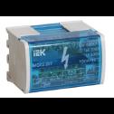 Шины на DIN-рейку в корпусе (кросс-модуль) L+PEN 2х7 IEK