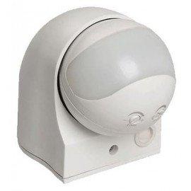 Датчик движения ИЭК ДД-010 1100Вт угол обзора 180 градусов IP44 белый