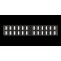 """NMC-RP48UE2-AN-2U-BK Патч-панель 19"""", 2U, 48 угловых порта RJ-45, категория 6 NIKOMAX"""