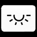 """33 L Вставка с символом """"освещение"""" Eff-Eff"""